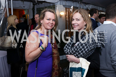 "April Delaney, Mariella Trager. Photo by Tony Powell. ""Microtrends Squared"" Book Party. March 20, 2018"