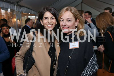 "Jeanie Milbauer, Mariella Trager. Photo by Tony Powell. ""Microtrends Squared"" Book Party. March 20, 2018"