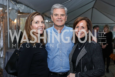 "Evan Ryan, Steve and Jean Case. Photo by Tony Powell. ""Microtrends Squared"" Book Party. March 20, 2018"