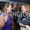 """April Delaney, Mariella Trager. Photo by Tony Powell. """"Microtrends Squared"""" Book Party. March 20, 2018"""