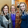 """Margie Sullivan, April Delaney, Lily Delaney. Photo by Tony Powell. """"Microtrends Squared"""" Book Party. March 20, 2018"""