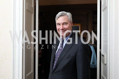 "Sen. Sheldon Whitehouse. Photo by Tony Powell. Max Kennedy ""Sea Change"" Book Party. Nixon Residence. December 4, 2019"