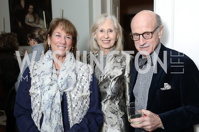 "Susie Trees, Willee Lewis, Finlay Lewis. Photo by Tony Powell. Max Kennedy ""Sea Change"" Book Party. Nixon Residence. December 4, 2019"