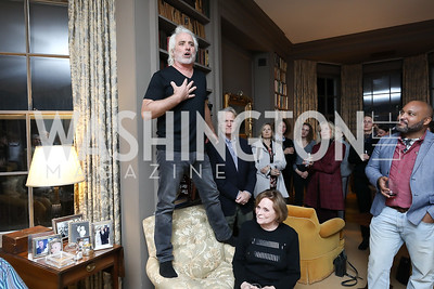 "Max Kennedy. Photo by Tony Powell. Max Kennedy ""Sea Change"" Book Party. Nixon Residence. December 4, 2019"
