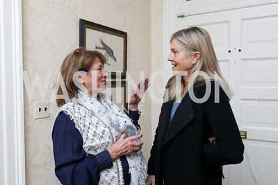"Susie Trees, Sissy Yates. Photo by Tony Powell. Max Kennedy ""Sea Change"" Book Party. Nixon Residence. December 4, 2019"