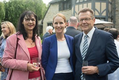 Amb  Anita Dahinden, Gudrun Waldner, Amb  Wolfgang Waldner Meridian Ball Leadership Reception June 12, 2018