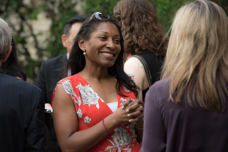 Sharmin Moten Meridian Ball Leadership Reception June 12, 2018