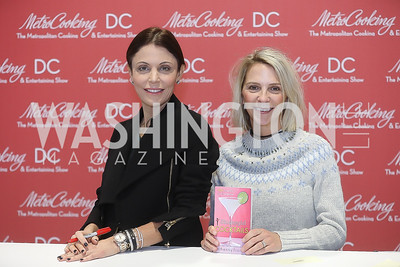 Bethenny Frankel, Devorah Churchill. Photo by Tony Powell. Metro Cooking DC. Bethenny Frankel. Convention Center. December 2, 2018
