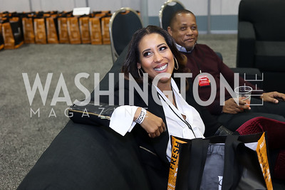 Kyndall Douglas. Photo by Tony Powell. Metro Cooking DC. Bethenny Frankel. Convention Center. December 2, 2018