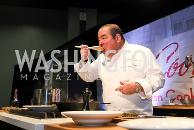 Emeril Lagasse. Photo by Tony Powell. 2018 MetroCooking DC. Emeril Lagasse. Convention Center. December 1, 2018