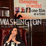 Changing The World One Film At A Time Conversation, Nadine Labaki, MFF Oct 2018, Salamander Resort Library, photo by Nancy Milburn Kleck