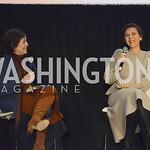 THE KINGERGARTEN TEACHER 08 Janet Maslin, Maggie Gyllenhaal, MFF Oct 2018, Salamander Resort, photo by Nancy Milburn Kleck