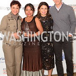 ROMA 17 Sheila Johnson, Yalitza Aparicio, Gabriela Rodriguez, John Horn, MFF Oct 2018, Salamander Resort, photo by Nancy Milburn Kleck