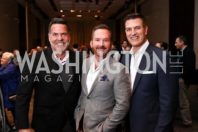 Joe Petrone, Shawn Evans, Daryl Judy. Photo by Tony Powell. Music Got Me Here Screening. Kennedy Center. January 10, 2018