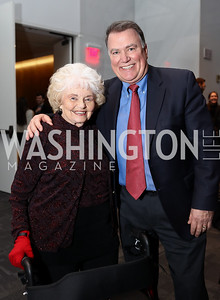 Norma and Kent Allen. Photo by Tony Powell. Music Got Me Here Screening. Kennedy Center. January 10, 2018
