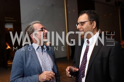 Neal Barrett, Arvind Manocha. Photo by Tony Powell. Music Got Me Here Screening. Kennedy Center. January 10, 2018