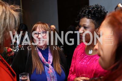 Diane Blagman, Tracy Hamlin. Photo by Tony Powell. Music Got Me Here Screening. Kennedy Center. January 10, 2018
