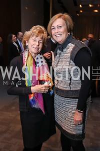 Bitsey Folger, Deborah Rutter. Photo by Tony Powell. Music Got Me Here Screening. Kennedy Center. January 10, 2018