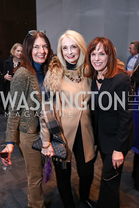 Linda Roth, Rhona Friedman, Carole Feld. Photo by Tony Powell. Music Got Me Here Screening. Kennedy Center. January 10, 2018