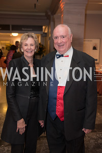 Judge Royce Lamberth, Janice Lamberth, National Archives Foundation, Records of Achievement Gala, Honoring First Lady Laura Bush.  October 10, 2018.  Photo by Ben Droz.