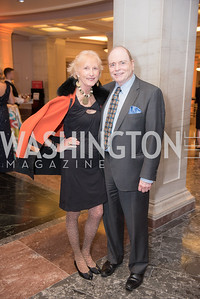 Lola Reinsch, Bill Detty,  National Archives Foundation, Records of Achievement Gala, Honoring First Lady Laura Bush.  October 10, 2018.  Photo by Ben Droz.