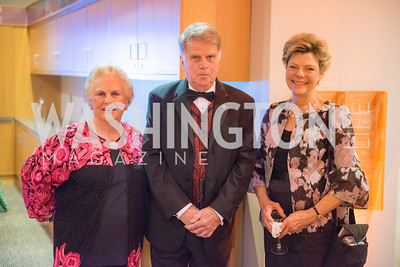 Jacqueline Mars, David Ferriero, Cokie Roberts,  National Archives Foundation, Records of Achievement Gala, Honoring First Lady Laura Bush.  October 10, 2018.  Photo by Ben Droz.
