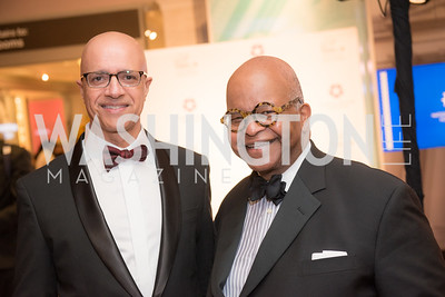Reggie Govan, Riley Temple, National Archives Foundation, Records of Achievement Gala, Honoring First Lady Laura Bush.  October 10, 2018.  Photo by Ben Droz.