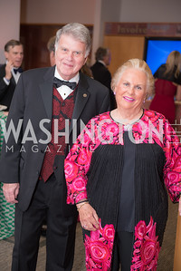 David Ferriero, Jacqueline Mars,  National Archives Foundation, Records of Achievement Gala, Honoring First Lady Laura Bush.  October 10, 2018.  Photo by Ben Droz.