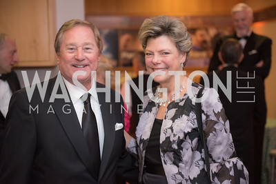 Governor James Blanchard, Cokie Roberts, National Archives Foundation, Records of Achievement Gala, Honoring First Lady Laura Bush.  October 10, 2018.  Photo by Ben Droz.