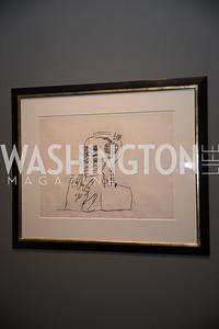 "Basquiat Self Portrait. Photo by Bruce Allen. National Portrait Gallery ""Face Forward"" Artist Party."