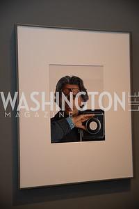 "Richard Avedon Self Portrait. Photo by Bruce Allen. National Portrait Gallery ""Face Forward"" Artist Party."