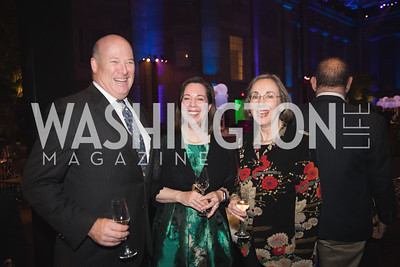 "David des Roches, Robyn Asleson, Ann Shumard. Photo by Bruce Allen. National Portrait Gallery ""Face Forward"" Artist Party."