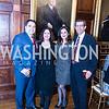 Reza Amani, Termeh Rassi, Mandana Dehghanian, Bahram Shariari, Iranian-American Nowruz Reception, Washington, DC, Carnegie Institute of Science, March 15, 2018.  Photo by Ben Droz.
