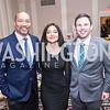 Montez Anderson, Laleh Jalali Ghafouri, Dan Helmer, Iranian-American Nowruz Reception, Washington, DC, Carnegie Institute of Science, March 15, 2018.  Photo by Ben Droz.