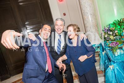 Ali Rahnama, Robert Babayi, Aghdas Babayi, Iranian-American Nowruz Reception, Washington, DC, Carnegie Institute of Science, March 15, 2018.  Photo by Ben Droz.