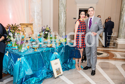 Dr. and Mrs. Shervin Naderi, Iranian-American Nowruz Reception, Washington, DC, Carnegie Institute of Science, March 15, 2018.  Photo by Ben Droz.