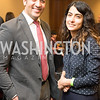 Ali Rahnama, and friend, Capitol Hill Nowruz Reception, hosted by PAAIA, March 19, 2018, photo by Ben Droz.