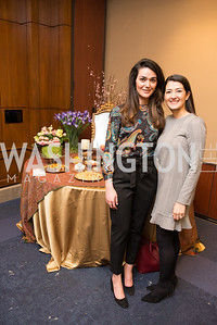 Nazli Karimi, Setareh Ebrahimian, Capitol Hill Nowruz Reception, hosted by PAAIA, March 19, 2018, photo by Ben Droz.