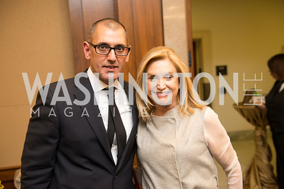 Morad Ghorban, Rep. Carolyn Maloney, Capitol Hill Nowruz Reception, hosted by PAAIA, March 19, 2018, photo by Ben Droz.