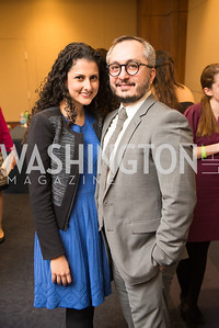 Amir Afkhamie, Hastie Afkhamie, Capitol Hill Nowruz Reception, hosted by PAAIA, March 19, 2018, photo by Ben Droz.