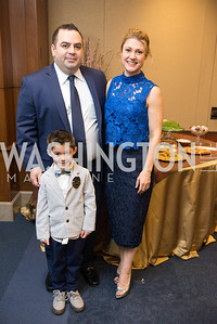 Amir Bagherpour, Cassandra Campbell, Capitol Hill Nowruz Reception, hosted by PAAIA, March 19, 2018, photo by Ben Droz.