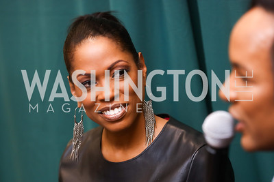 Shawn Yancy. Photo by Tony Powell. Paul Wharton Pulling it all Together Book Party. Tysons Barnes and Noble. January 20, 2018