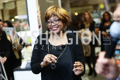 Paul's mother Brenda Herian. Photo by Tony Powell. Paul Wharton Pulling it all Together Book Party. Tysons Barnes and Noble. January 20, 2018