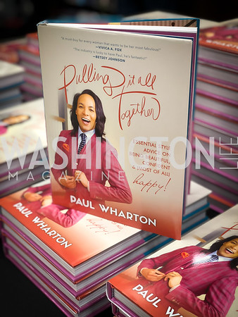 """Paul Wharton """"Pulling it all Together"""" Book Party 