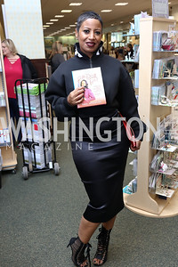 Michele Lopez. Photo by Tony Powell. Paul Wharton Pulling it all Together Book Party. Tysons Barnes and Noble. January 20, 2018