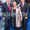 General Colin Powell, Alma Powell, John Gomperts. Photo by Alfredo Flores. Promise Night. Newseum. April 18, 2018.
