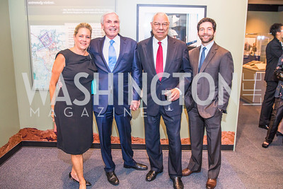Peggy Cifrino ,Ray Chambers, General Colin Powell, Jeff Weiner . Photo by Alfredo Flores. Promise Night. Newseum. April 18, 2018.