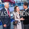 General Colin Powell, Alma Powell, Carmita Semaan. Photo by Alfredo Flores. Promise Night. Newseum. April 18, 2018.