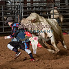 CLINT LOTT-BKBD-BULL RIDING-SA-81
