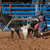 CLINT LOTT-BKBD-BULL RIDING-SA-91